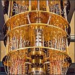 Photo of a quantum computer